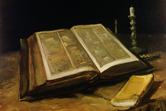 the bible van gogh 1885