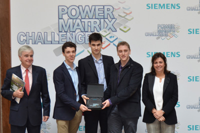 Ganadores de Power Matrix Challenge WEB