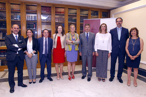 Los decanos de las universidades de Madrid con el Ministro de Justicia