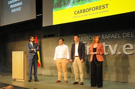 Los creadores de carboforest presentan su proyecto