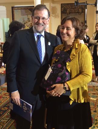 Salomé Adroher y Mariano Rajoy