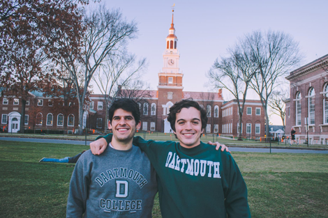 Alumnos en Dartmouth