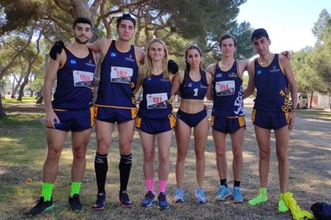 Seis alumnos en el Campeonato de España de Campo a Través