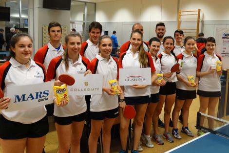 Comillas organiza el Campeonato Universitario de Tenis de Mesa y Ajedrez