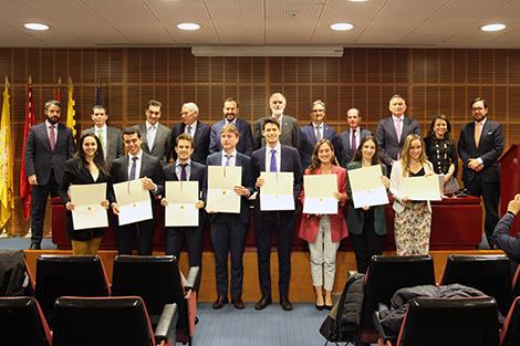 Premios al Mejor Proyecto Fin de Carrera de Comillas ICAI