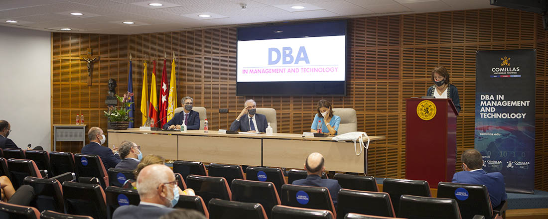 Presentación de la 2ª edición del DBA in Management and Technology
