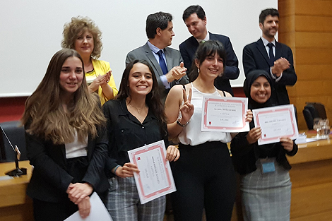 La Universidad Pontificia Comillas ha acogido la final del Madrid School Debating Tournament, un debate escolar en inglés de la Comunidad de Madrid.