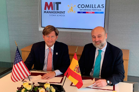 Comillas and MIT Sloan have signed an agreement for the DBA program