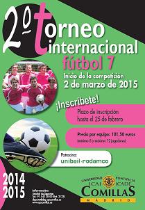 25bce4ed2ffc3 UNIBAIL - RODAMCO patrocinador oficial del II torneo internacional de fútbol  7 que organiza Comillas.